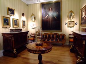 Museo del Romanticismo, Sala XVII, El Gabinete de Larra