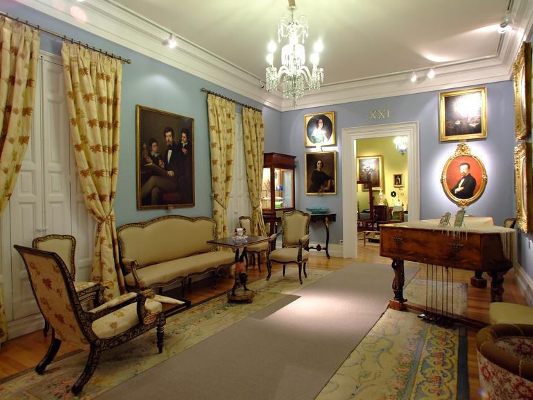 Museo del romanticismo Casas de muebles en madrid