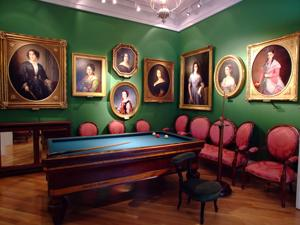 Museo del Romanticismo, Sala XXIII, La Sala de Billar