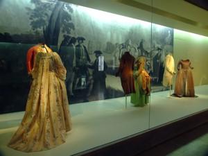 Museo del Traje, Sala Ilustración y Casticismo