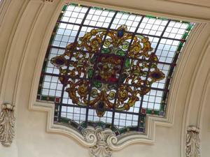 Museo Geominero, Cúpula, elemento decorativo de caractér vegetal