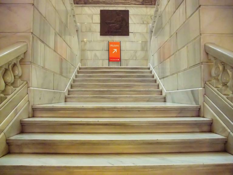 Museo geominero - Puerta escalera ninos ...