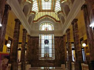 Museo Geominero, Vestíbulo primera planta