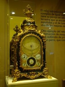 Museo Nacional de Ciencia y Tecnología, Utilización de los relojes