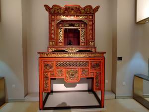 Museo Nacional de Antropolog�a, Altar budista, China, Siglo XIX