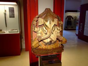 Museo Nacional de Antropolog�a, Dios Ganesh, India, Siglo XIX