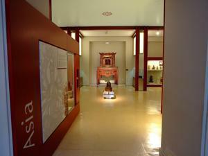 Museo Nacional de Antropolog�a, Sala II, religiones en Asia