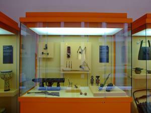 Museo Nacional de Antropolog�a, �tiles de fumador y juguetes
