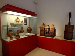 Museo Nacional de Antropolog�a, Vivienda y Ajuar Dom�stico, Filipinas