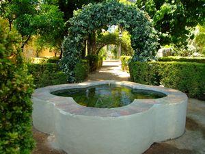 Alcázar de los Reyes Cristianos, Jardín Alto