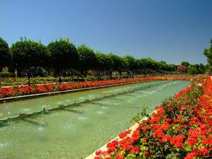 Alcázar de los Reyes Cristianos, Jardín Bajo