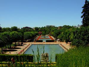 Alcázar de los Reyes Cristianos, Jardines