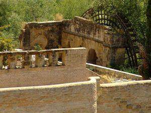 Alcázar de los Reyes Cristianos, Noria de la Albolaifa