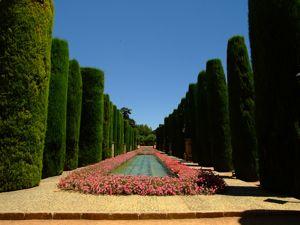 Alcázar de los Reyes Cristianos, Paseo de los Reyes