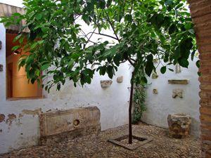 Alcázar de los Reyes Cristianos, Patio chico