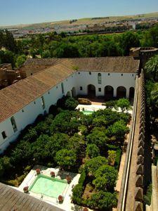 Alcázar de los Reyes Cristianos, Patio Morisco