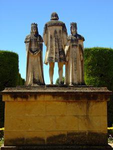 Alcázar de los Reyes Cristianos, Reyes Católicos y Cristobal Colón