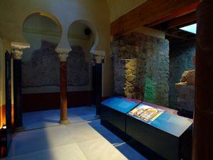 Córdoba, Baños Califales, Bayt al-Sajun o Sala caliente