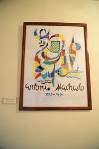 Casa-Museo de Antonio Machado, Litografía de Rafael Alberti