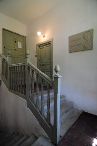 Escaleras de la Casa-Museo de Antonio Machado