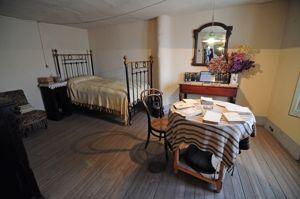 Habitación del escritor de la Casa-Museo de Antonio Machado