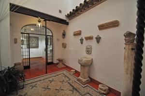Casa-Museo de Arte sobre Piel, Patio