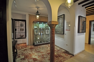 Casa-Museo de Arte sobre Piel, Sala IV - Entre Columnas