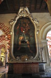 Mezquita de Córdoba, Altar de San Cristóbal