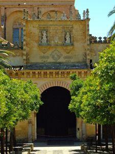 Mezquita de Córdoba, Puerta de las Palmas o Arco de las Bendiciones
