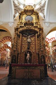 Catedral - Mezquita de Córdoba, Altar del Santísimo Cristo del Punto