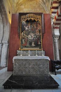 Catedral - Mezquita de Córdoba, Altar de la Encarnación