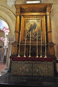 Catedral - Mezquita de Córdoba, Altar de Santa Marta