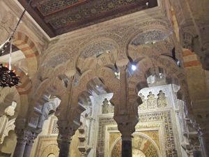 Catedral - Mezquita de Córdoba, Arcos entrecruzados