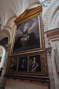 Catedral-Mezquita de Córdoba, Altar de San Isidoro, San Leandro y San Ignacio