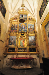 Catedral-Mezquita de Córdoba, Capilla de Ihesu Verde y San Nicolás de Bari