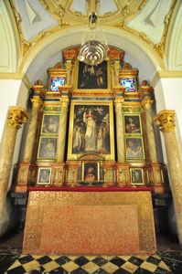 Catedral-Mezquita de Córdoba, Capilla de Santa Úrsula y Santa Francisca Romana