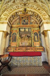 Catedral-Mezquita de Córdoba, Capilla del Santo Sepulcro o de los Santos Varones