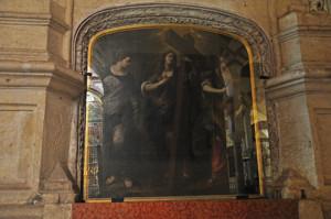 Mezquita de Córdoba, Altar de Santa Elena y Santa Cecilia
