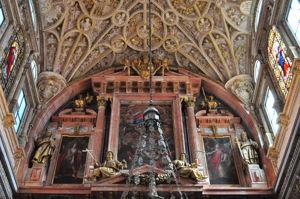 Mezquita de Córdoba, Ático del Retablo de la Capilla Mayor