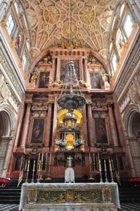 Mezquita de Córdoba, Bóveda de la Capilla Mayor