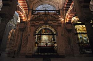 Mezquita de Córdoba, Capilla de San Pelagio