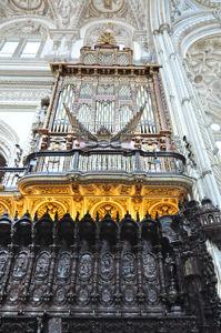 Mezquita de Córdoba, Órgano del lado del Evangelio