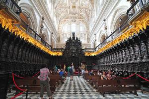 Mezquita de Córdoba, Sillería del Coro