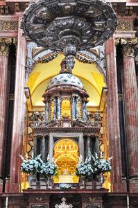 Mezquita de Córdoba, Templete Retablo de la Capilla Mayor