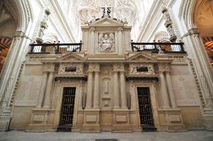 Mezquita de Córdoba, Trascoro