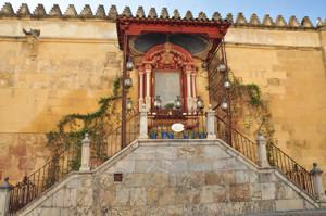 Catedral - Mezquita de Córdoba, Altar de la Virgen de los Faroles