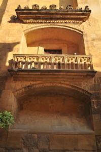 Catedral - Mezquita de Córdoba, Balcón plateresco