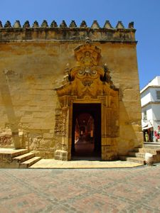 Catedral - Mezquita de Córdoba, Puerta de la Grada Redonda