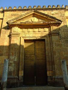 Catedral - Mezquita de Córdoba, Puerta del Caño Gordo