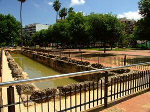 Córdoba, Piscina limaria o estanque de decantación